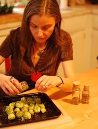 Kasia Cooking