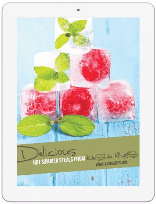Delicious Hot Summer Steals | Kasia Kines