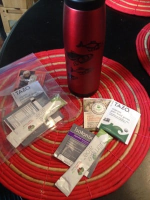 Healthy Travel Tips - Teas, Supplements, and more...