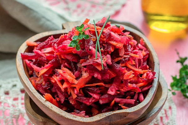 Carrot Beet Slaw | Kasia Kines - Functional Nutrition
