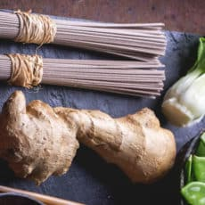 Asian Buckwheat Noodles