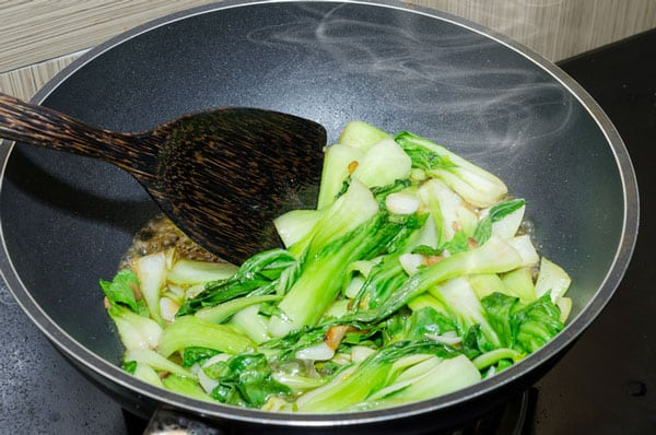 Bok Choy and Broccoli Stir Fry
