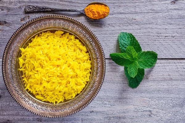 Lemon Chili Rice