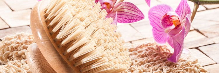 Detoxify your skin: dry skin brushing