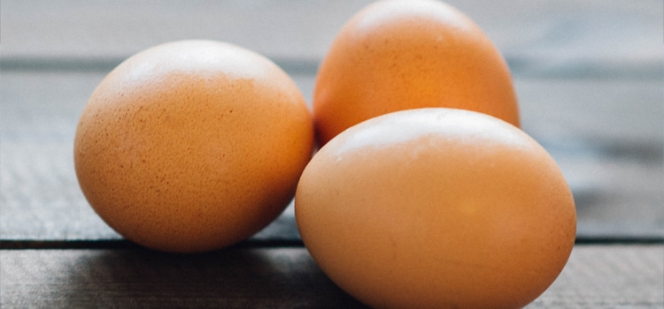 Eggs are one of the common allergy-causing foods