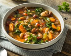 Greek Fasoulada Bean Soup