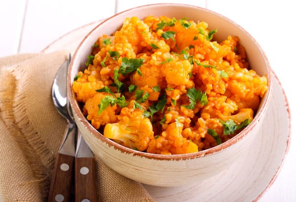 Lentil Cauliflower Curry